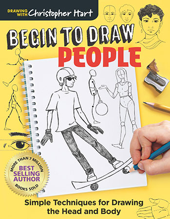 Begin to Draw People: Simple Techniques for Drawing the Head and