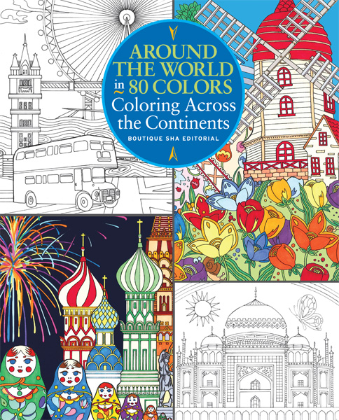 Around the World in 80 Colors: Coloring Across the Continents