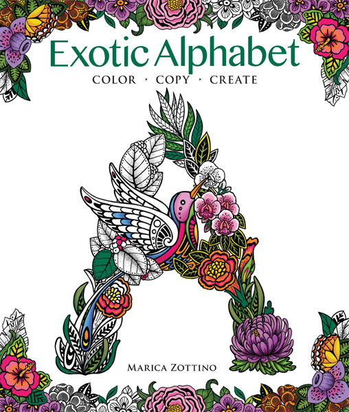 Exotic Alphabet: Color • Copy • Create