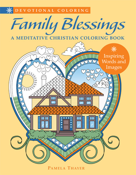 Devotional Coloring Family Blessings A Meditative Christian Co