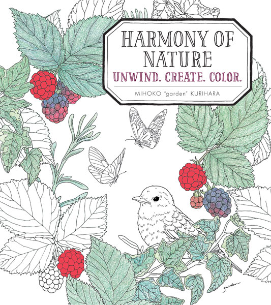 Harmony of Nature: Unwind. Create. Color.