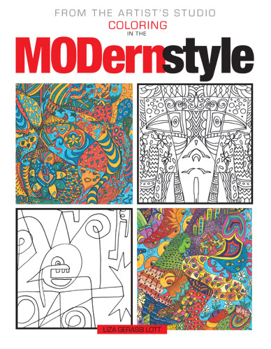 From the Artist's Studio: Coloring in the Modern Style