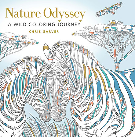 Nature Odyssey: A Wild Coloring Journey