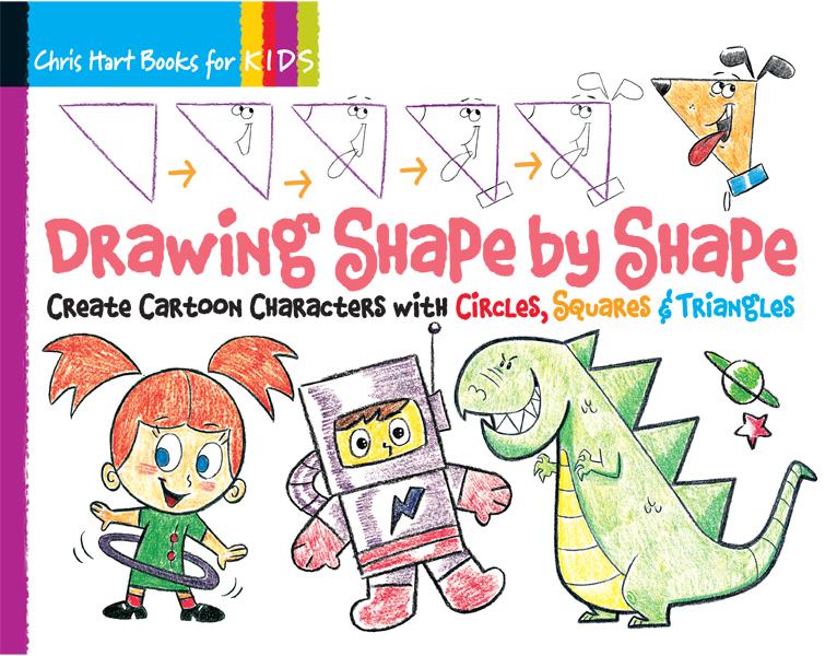 Drawing Shape by Shape with Circles, Squares & Triangles