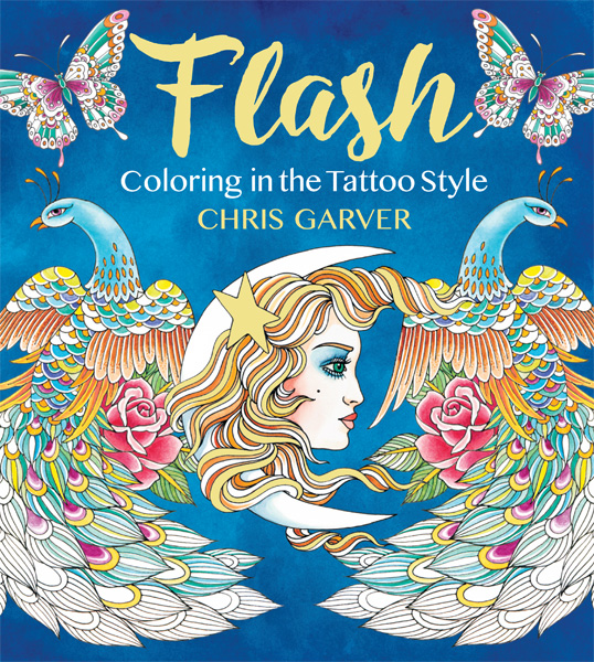 Flash :Coloring in the Tattoo Style