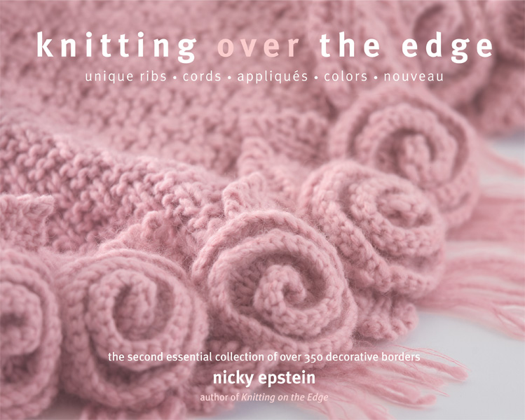 Knitting Over the Edge: 350 Decorative Borders [Paperback]